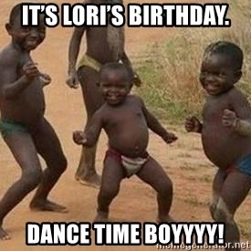 african children dancing - It's Lori's birthday. Dance time boyyyy!