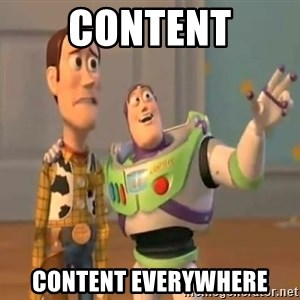 X, X Everywhere  - Content Content Everywhere