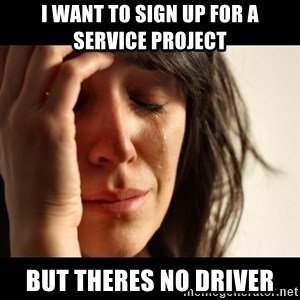 crying girl sad - I WANT TO SIGN UP FOR A SERVICE PROJECT BUT THERES NO DRIVER