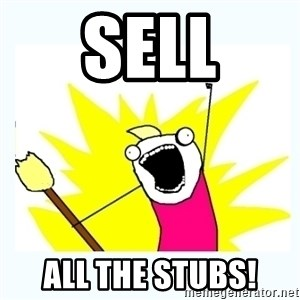 All the things - Sell All the Stubs!