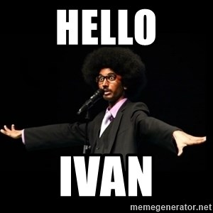 AFRO Knows - Hello Ivan