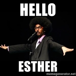AFRO Knows - Hello Esther