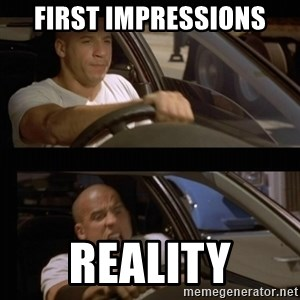 Vin Diesel Car - First Impressions Reality