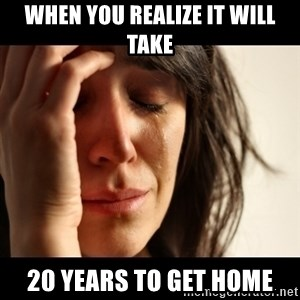 crying girl sad - When you realize it will take 20 years to get home