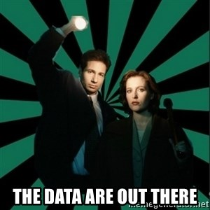 "Typical fans ""The X-files"" - The data are out there"