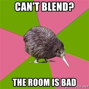 Choir Kiwi - Can't Blend? The room is bad