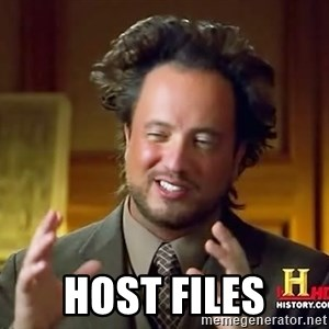 Ancient Aliens - host files