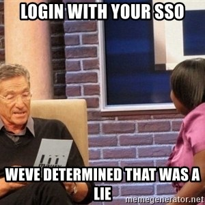 Maury Lie Detector - Login with your SSO weve determined that was a lie