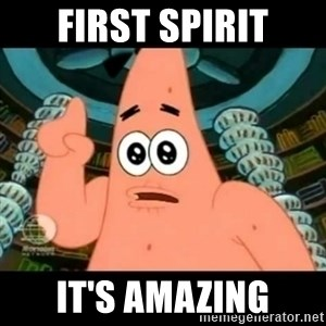 ugly barnacle patrick - First Spirit it's Amazing