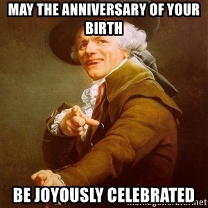 Joseph Ducreux - may the anniversary of your birth  be joyously celebrated