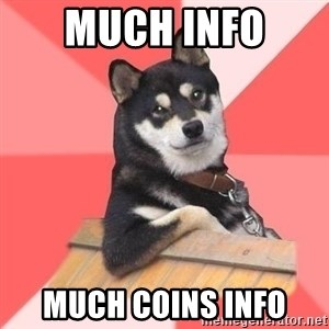 Cool Dog - much info  much coins info