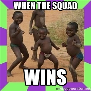 african kids dancing - When the squad Wins