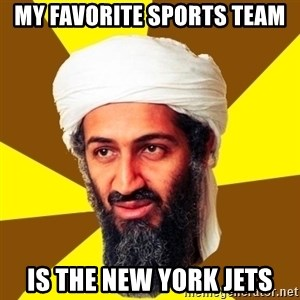 Osama - My favorite sports team is the new york jets