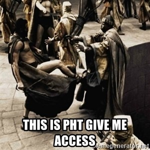 sparta kick - THIS IS PHT give me access