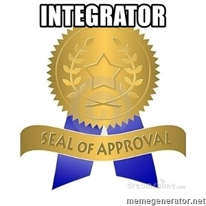 official seal of approval - Integrator