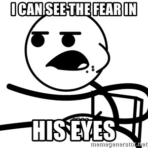 Cereal Guy - i can see the fear in his eyes