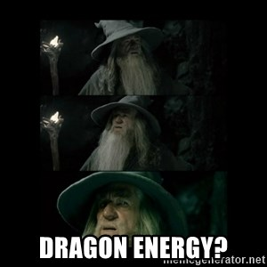 Confused Gandalf - Dragon Energy?