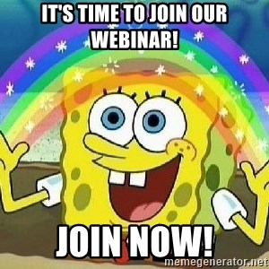 Imagination - It's Time to Join Our Webinar! Join Now!