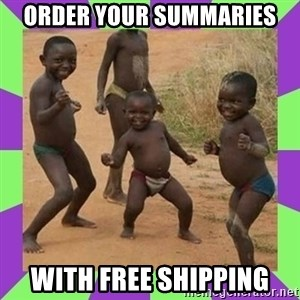african kids dancing - Order your summaries with free shipping