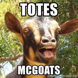 Illogical Goat - Totes mcGOATS