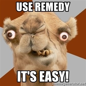 Crazy Camel lol - Use Remedy It's Easy!