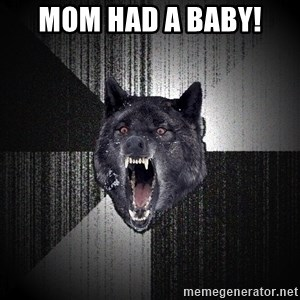 Insanity Wolf - Mom had a baby!