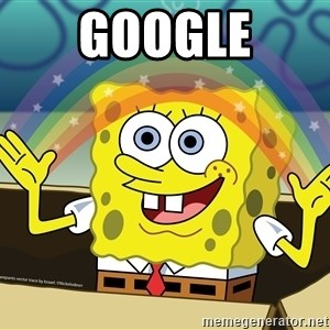 spongebob rainbow - GOOGLE