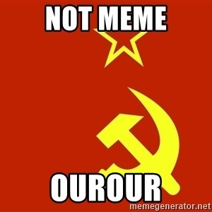 In Soviet Russia - not meme ourour