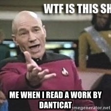 Patrick Stewart WTF - me when i read a work by danticat