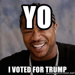 Yo Dawg - yo  i voted for trump