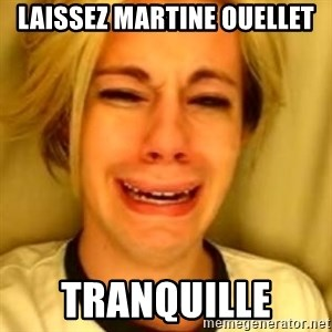 You Leave Jack Burton Alone - Laissez Martine Ouellet Tranquille
