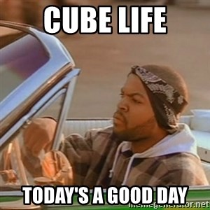 Good Day Ice Cube - Cube life today's a good day