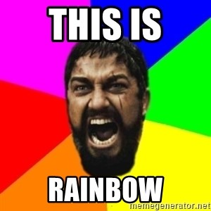 sparta - this is rainbow