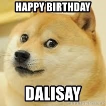dogeee - Happy Birthday Dalisay