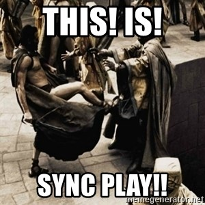 sparta kick - THIS! IS! SYNC PLAY!!