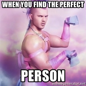 Unicorn Boy - when you find the perfect person