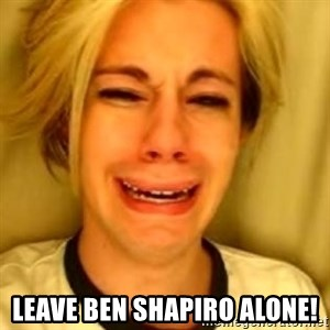You Leave Jack Burton Alone - Leave Ben Shapiro Alone!