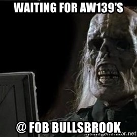 OP will surely deliver skeleton - Waiting for aw139's @ FOB bullsbrook