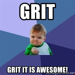 Success Kid - Grit  grit it is awesome!