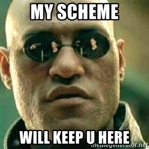 What If I Told You - My scheme Will keep u here