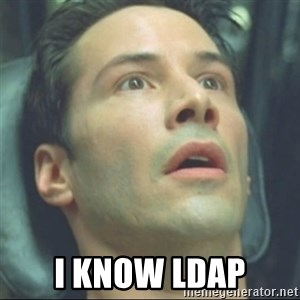 i know kung fu - i KNOW LDAP