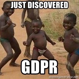 african children dancing - Just discovered GDPR