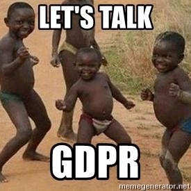 african children dancing - Let's talk GDPR