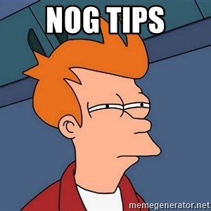 Futurama Fry - nog tips