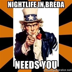 Uncle sam wants you! - Nightlife in Breda Needs you