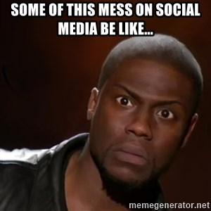 kevin hart nigga - some of this mess on social media be like...