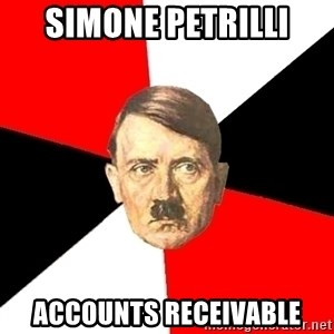 Advice Hitler - simone petrilli accounts receivable