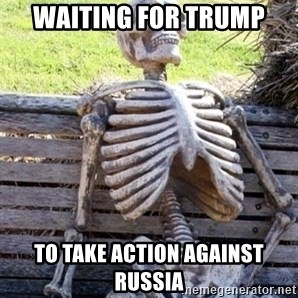 Waiting For Op - Waiting for Trump To take action against russia