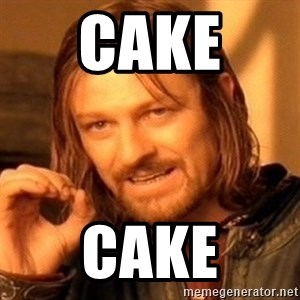 One Does Not Simply - Cake  Cake