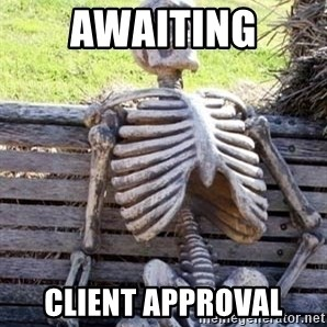 Waiting For Op - awaiting client approval